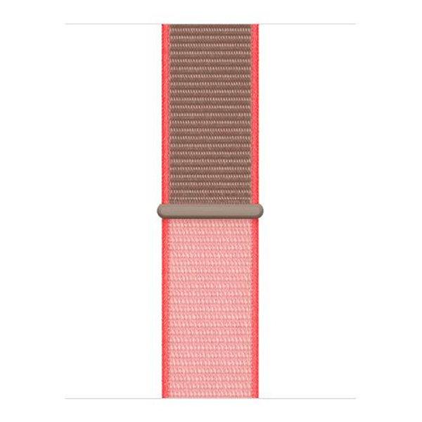 123Watches Apple watch nylon sport band - Neon Pink