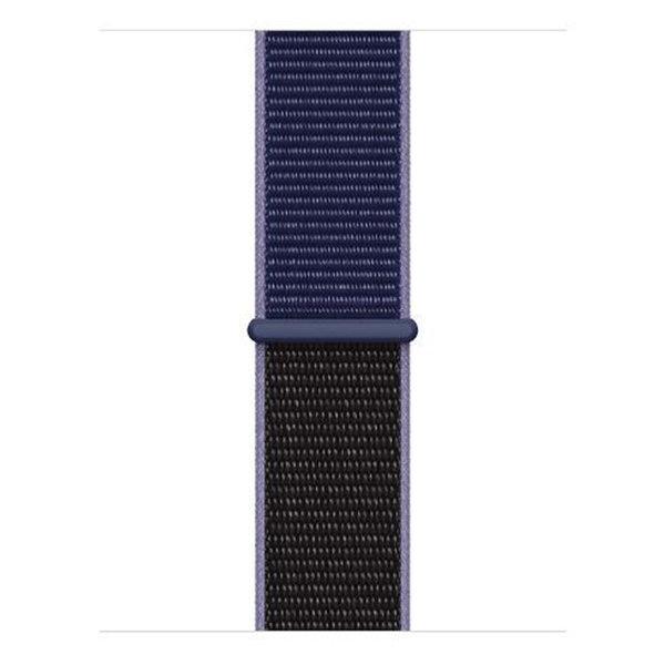 123Watches Apple watch nylon sport band - Mitternachtsblau