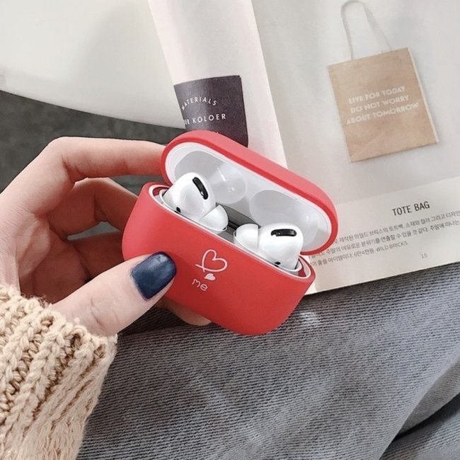 Marke 123watches Apple AirPods PRO Hardcase - mich rot