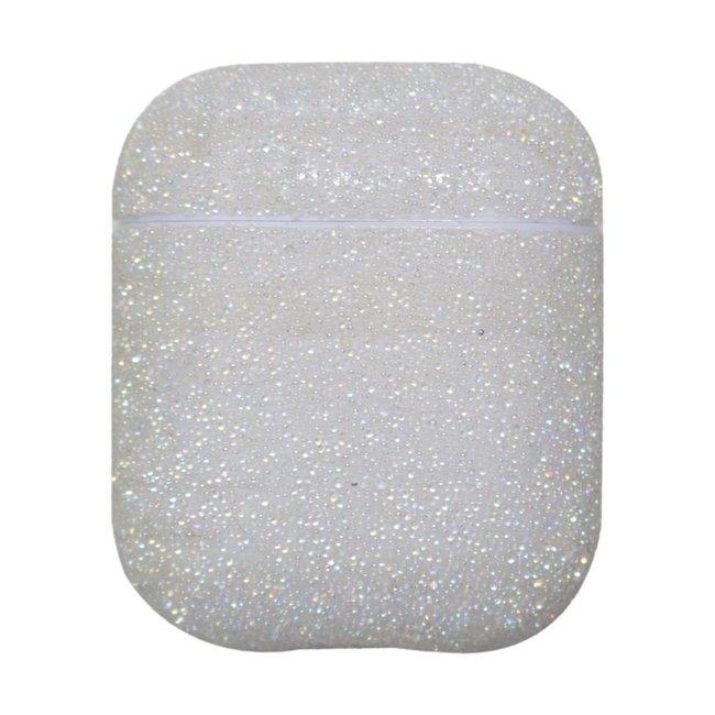 Marke 123watches Apple AirPods 1 & 2 funkeln Hardcase - Weiß