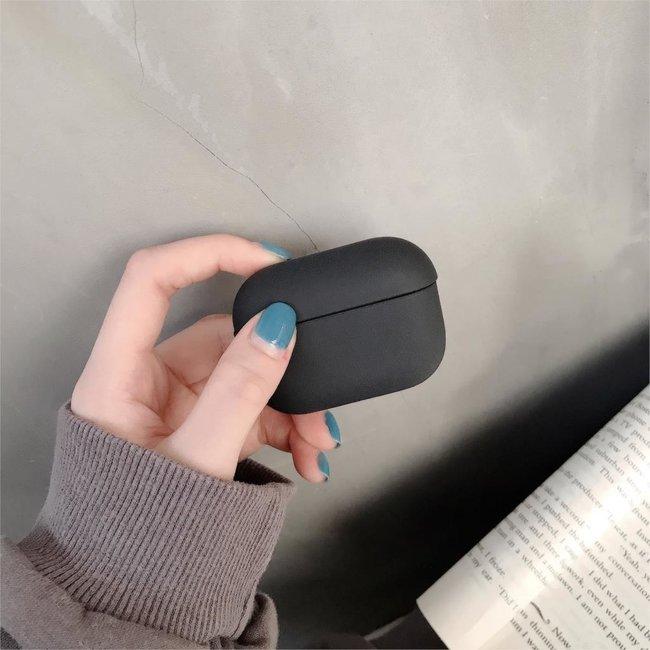 Marke 123watches Apple AirPods PRO solide Hartschale - schwarz