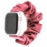 123Watches Apple Watch Scrunchie Band - Rosa
