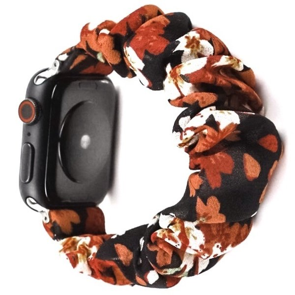 123Watches Apple Watch Scrunchie Band - Lilie