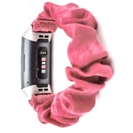 123Watches Fitbit Charge 3 & 4 Scrunchie Band - Rosa