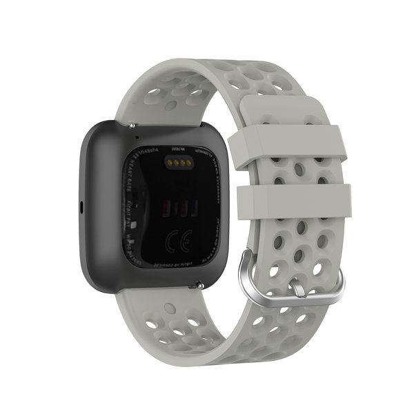 123Watches Fitbit Versa sport point band - grau