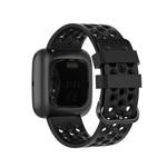 123Watches Fitbit Versa sport point band - schwarz