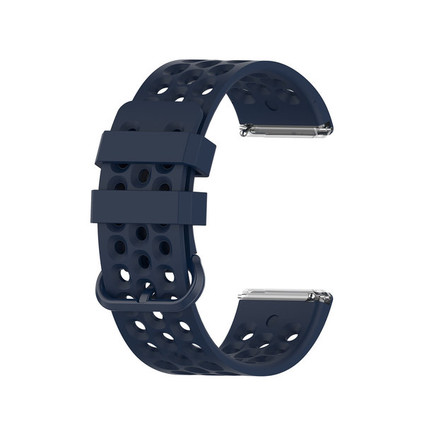 123Watches Fitbit Versa sport point band - dunkelblau