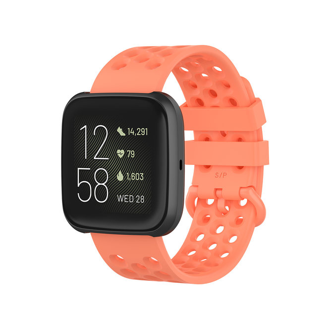 Marke 123watches Fitbit Versa sport point band - orange