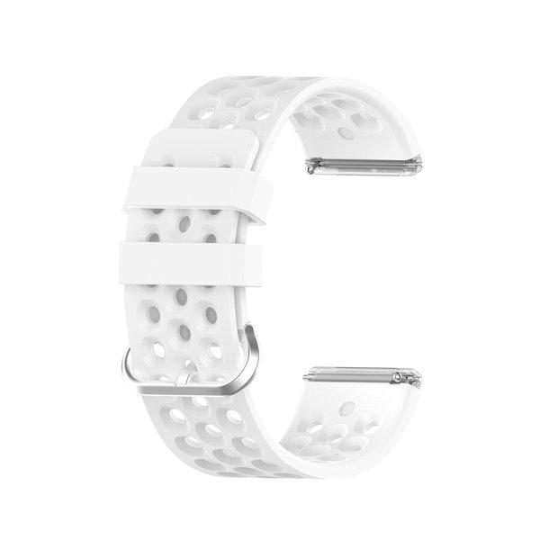 123Watches Fitbit Versa sport point band - weiß