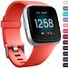 Marke 123watches Fitbit versa sport band - Orange Rot