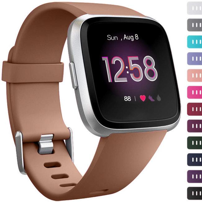 Marke 123watches Fitbit versa sport band - braun
