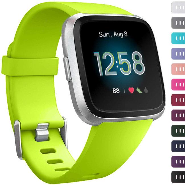 123watches Fitbit versa sport band - Grün