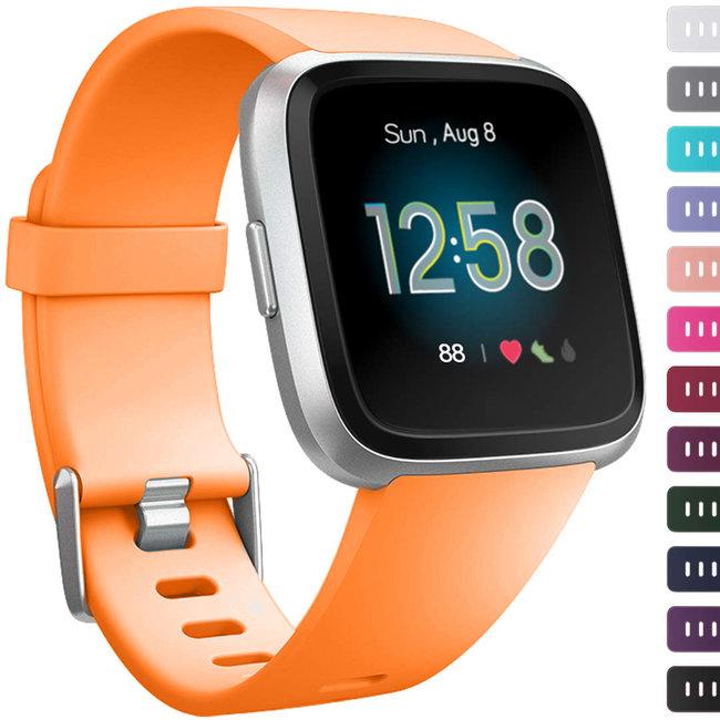 Marke 123watches Fitbit versa sport band - Orange