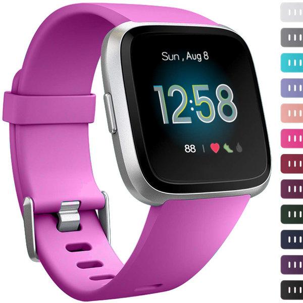 123Watches Fitbit versa sport band - Violett