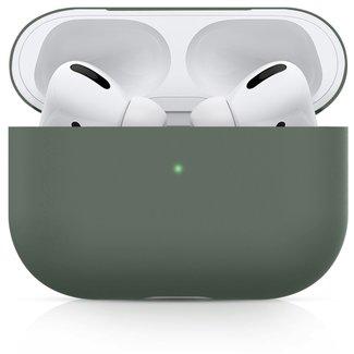 Marke 123watches Apple AirPods PRO solide soft case - graugrün