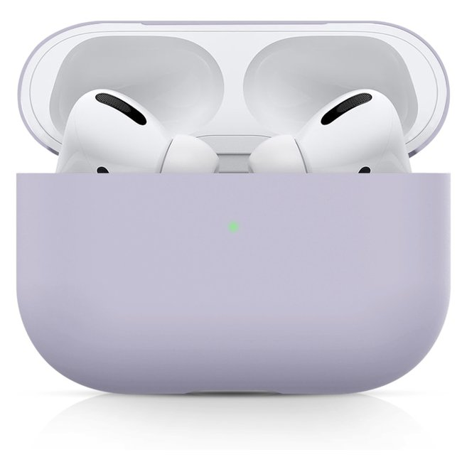 123watches Apple AirPods PRO solide soft case - violett