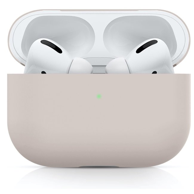 Apple AirPods PRO solide soft case - pink sand