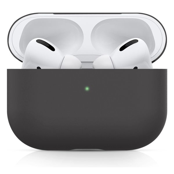 123Watches Apple AirPods PRO solide soft case - fortgeschrittene Asche