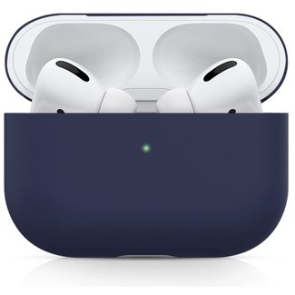 123watches Apple AirPods PRO solide soft case - blau grau