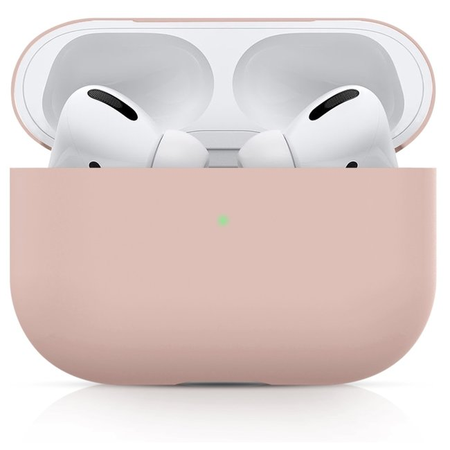 Apple AirPods PRO solide soft case - rosa