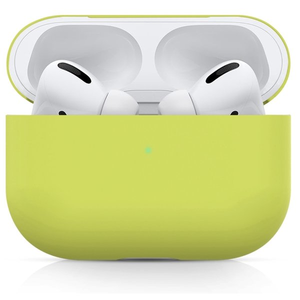 123Watches Apple AirPods PRO solide soft case - hellgelb