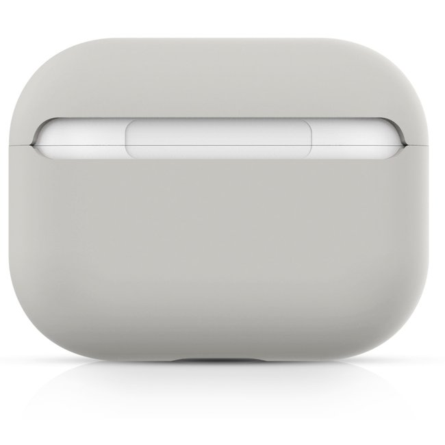 Apple AirPods PRO solide soft case - stein weiß