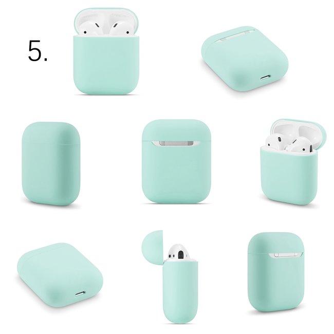 Apple AirPods 1 & 2 solide soft case - küste blau