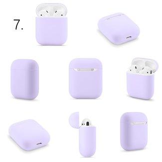 Marke 123watches Apple AirPods 1 & 2 solide soft case - violett