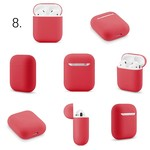 123Watches Apple AirPods 1 & 2 solide soft case - rot
