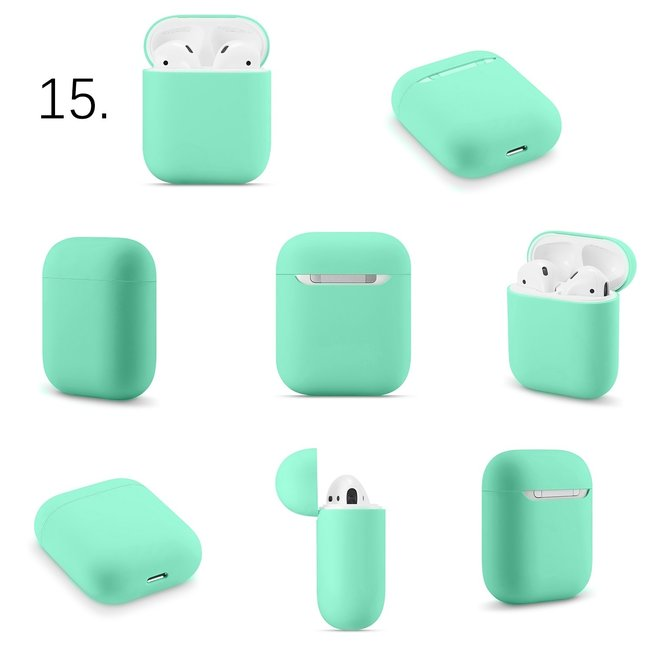 Apple AirPods 1 & 2 solide soft case - grün