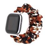 123Watches Fitbit Versa Scrunchie Band - Lilie