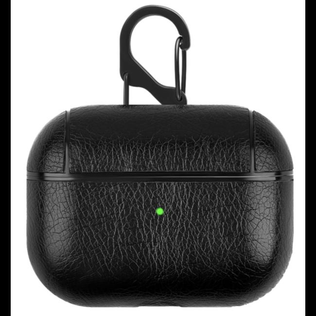 123watches Apple AirPods PRO Ledertasche - schwarz