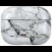 Marke 123watches Apple AirPods PRO Marmor Hartschalen - weiß