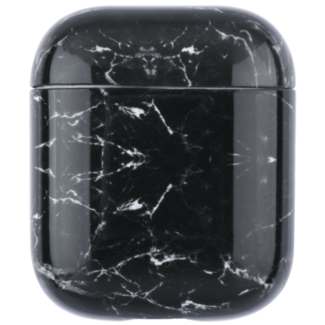 Marke 123watches Apple AirPods 1 & 2 Marmor Softcase - schwarz