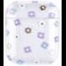 Marke 123watches Apple AirPods 1 & 2 transparente lustige Hartschale - mischen Sie Blumen