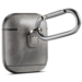 Marke 123watches Apple AirPods 1 & 2 Massivledertasche - grau