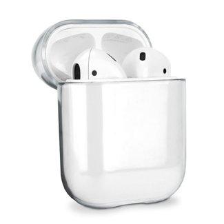 Marke 123watches Apple AirPods 1 & 2 transparenter Hartschalenkoffer - transparent