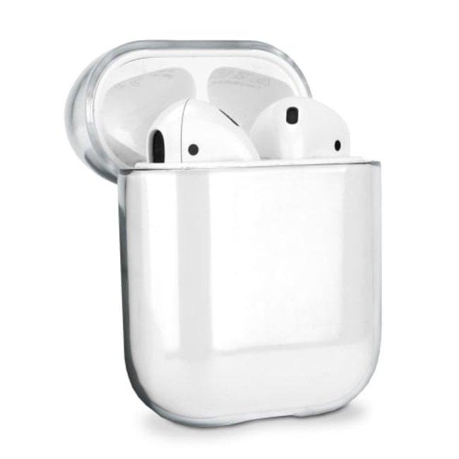 Apple AirPods 1 & 2 transparenter Hartschalenkoffer - transparent