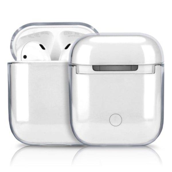 123Watches Apple AirPods 1 & 2 transparenter Hartschalenkoffer - transparent
