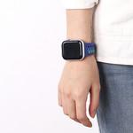 123Watches Apple watch doppelt sport band - buntes lila
