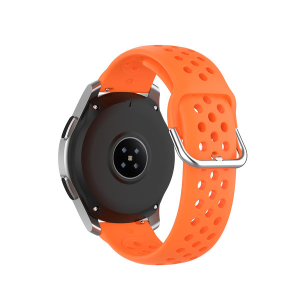 123Watches Garmin Vivoactive / Vivomove Silikon doppel schnallenband - Orange