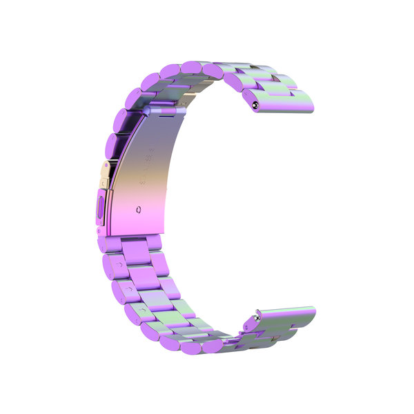 123Watches Garmin Vivoactive / Vivomove drei Stahlgliederperlenband - bunt