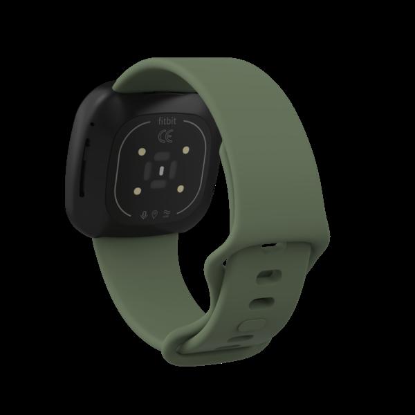 123Watches Fitbit Versa 3 / Sense Sportband - Grün