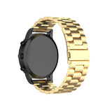 123Watches Samsung Galaxy Watch drei Stahlgliederperlenband - Gold