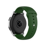 123Watches Samsung Galaxy Watch Silikonband - armeegrün