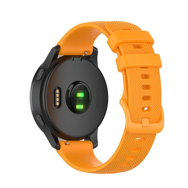 123Watches Samsung Galaxy Watch Silikon schnallenband - Orange