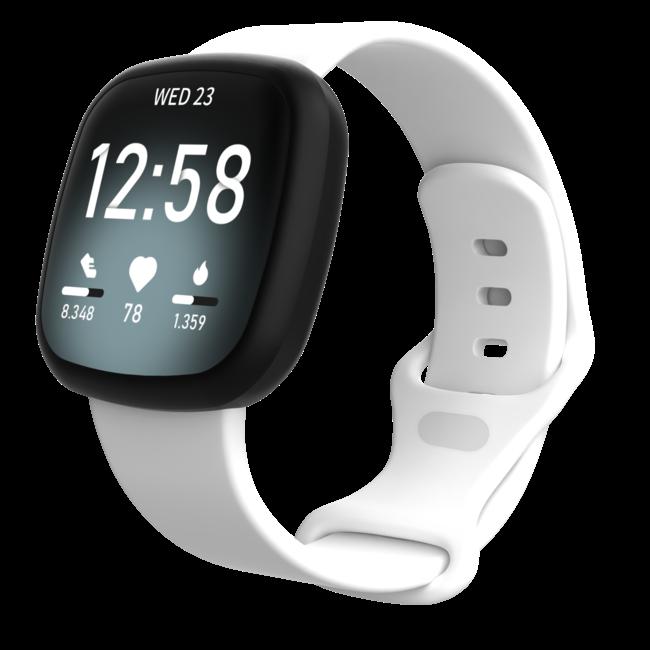 Fitbit Versa 3 / Sense Sportband - Weiß