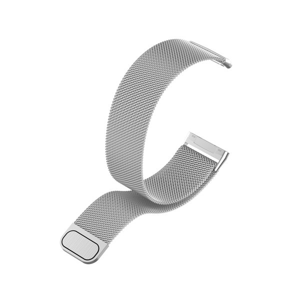 123Watches Fitbit Versa 3 / Sense milanese band - Silber