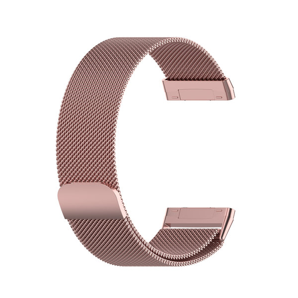 123Watches Fitbit Versa 3 / Sense milanese band - rosarot