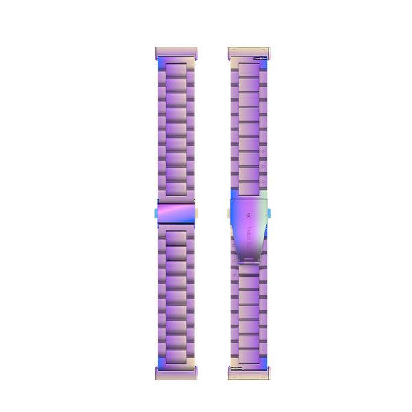 123Watches Fitbit Versa 3 / Sense Perlen Stahlverbindungsband - bunt